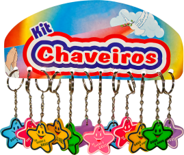 CHAVEIRO EMBORRACHADO DUZIA ESTRELA