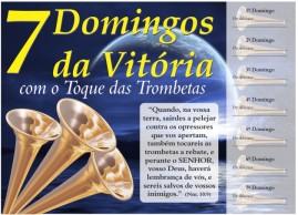 CAMPANHA PACOTE COM 50 UNIDADES 7 DOMINGOS DA VOTÓRIA