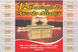 CAMPANHA PACOTE COM 50 UNIDADES 12 DOMINGOS DA ARCA DA ALIANÇA