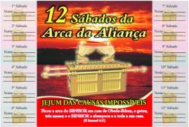 CAMPANHA PACOTE COM 50 UNIDADES 12 SÁBADOS DA ARCA DA ALIANÇA