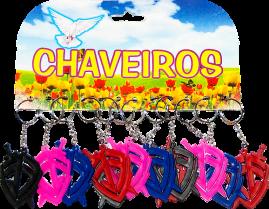 CHAVEIRO EMBORRACHADO DUZIA ESCUDO DA FÉ