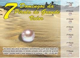 CAMPANHA PACOTE COM 50 UNIDADES 7 DOMINGOS DA PEROLA DE GRANDE VALOR