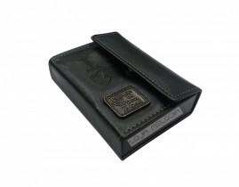 caixa de promessa couro luxo preta