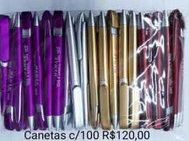 CANETAS MÃE PAC/ 100 UNIDADE