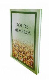 LIVRO REGISTRO ROL  DE MEMBROS