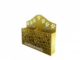 Porta Envelope De Dízimos E Ofertas Duplo Modelo Flor Mdf