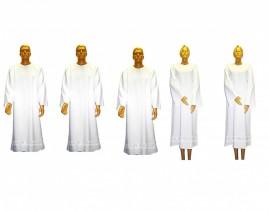 Kit Com 05 Beca, Capa, Bata Para Batismo Em Oxford EXCELENTE ACABAMENTO