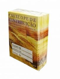 ENVELOPE DE CONTRIBUIÇÃO PACOTE C/100 UNIDADE