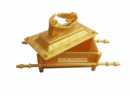 Arca Da Aliança Cristã Dourada Pacote Com 10 Unidades