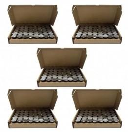 Kit C/ 5 Caixas De Cálices Ceia C/ Suco De Uva 240 Unidades
