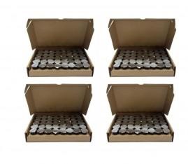Kit C/ 4 Caixas De Cálices Ceia C/ Suco De Uva 192 Unidades